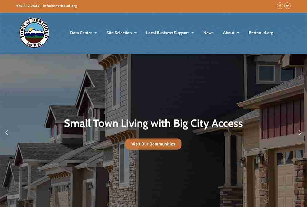 Berthoud Economic Development website