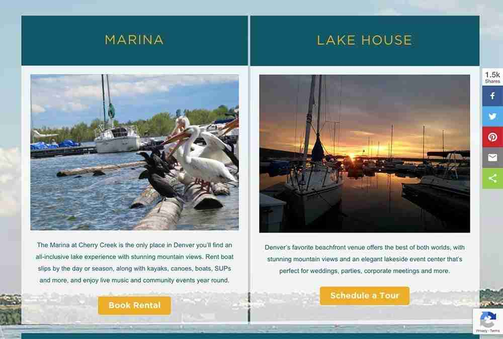 Pelican Bay at Cherry Creek website