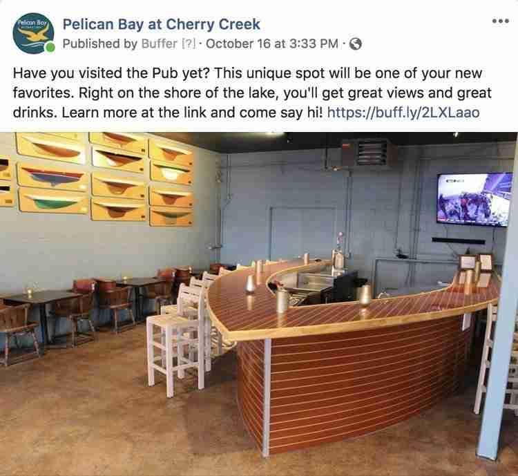 Pelican Bay Facebook Post