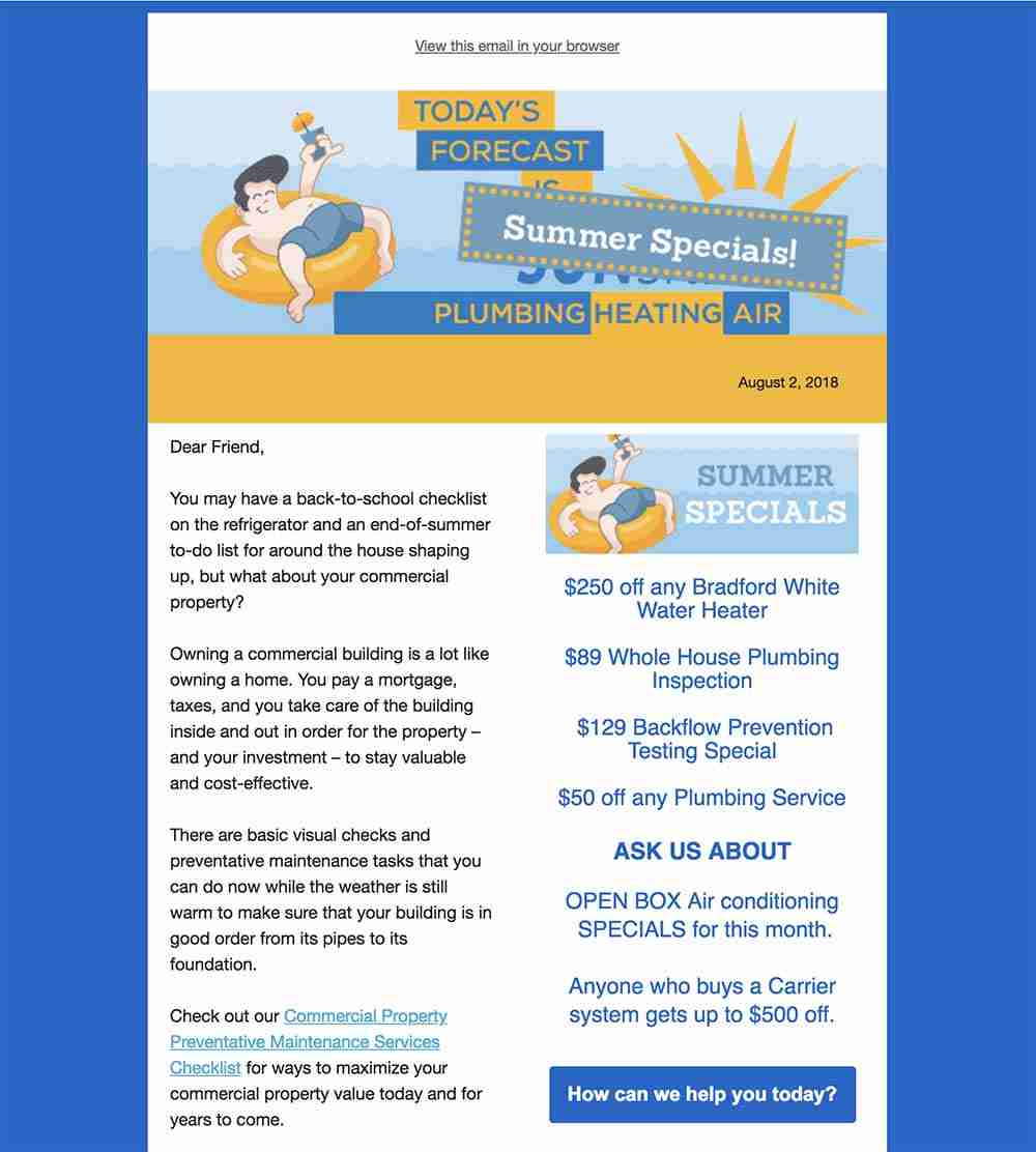 Sunshine-Newsletter