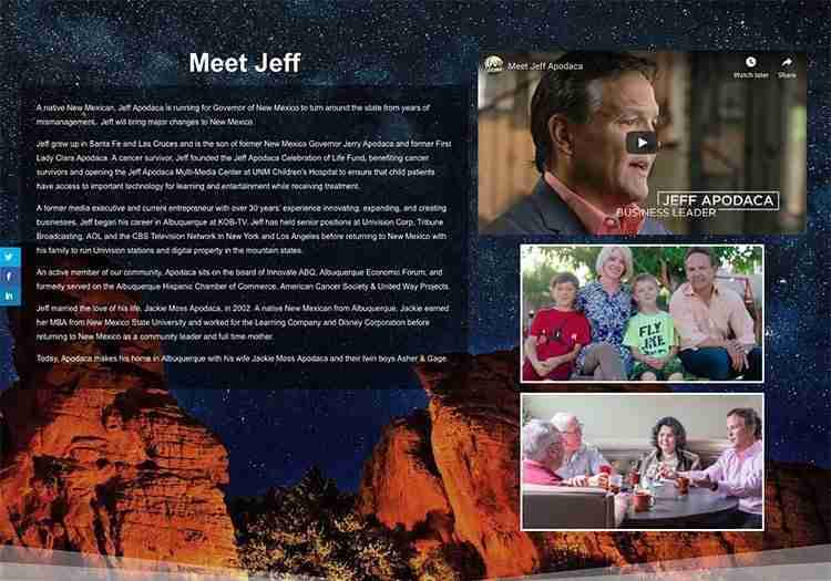 Jeff Apodaca website