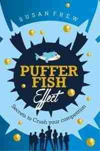 pufferfish effect blue book cover